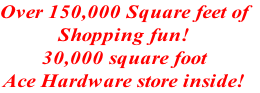 Over 150,000 Square feet of